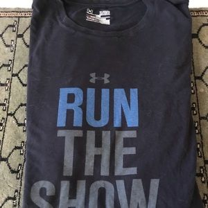 "Under Armour ""Run The Show"" men's tee-shirt"